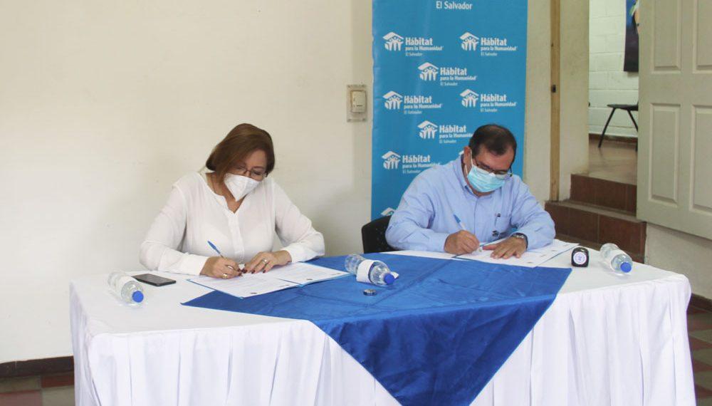 Convenio Habitat El Salvador y Atiquizaya